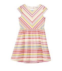 Jessica Simpson Girls' 7-16 Striped Skater Dress