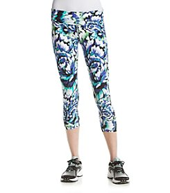 Calvin Klein Performance Wild Blooms Crop Leggings
