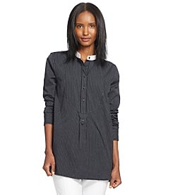 Lauren Jeans Co.® Cotton Voile Tunic