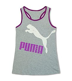 PUMA® Girls' 7-16 Cat Logo Plank Tank