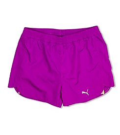 PUMA® Girls' 7-16 Swirl Running Shorts