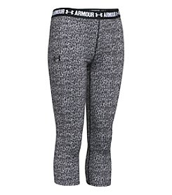 Under Armour® Girls' 7-16 Printed Armour® Capri Leggings