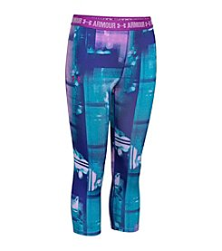 Under Armour® Girls' 7-16 HeatGear® Armour Printed Capris