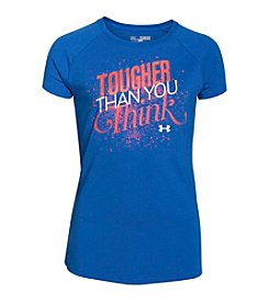 Under Armour® Girls' 7-16 Tougher Than You Think Tee