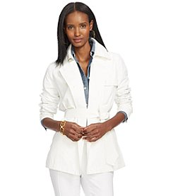 Lauren Ralph Lauren® Double-Breasted Trench Coat