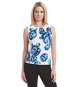 Calvin Klein Sleeveless Blotch Print Cami