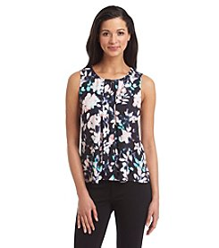 Kasper® Sleeveless Floral Blouse