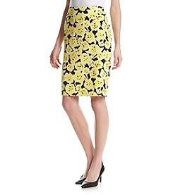 Nine West® Floral Tube Skirt