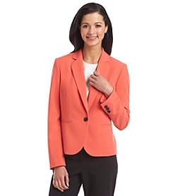 Nine West® One-Button Blazer Jacket