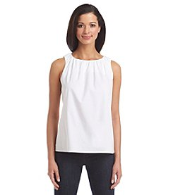 Nine West® Sleeveless Cotton Cami