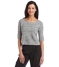 Ivanka Trump® Short Sleeve Sweater