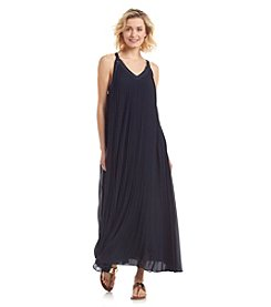 MICHAEL Michael Kors® Pleated Grommet Maxi Dress