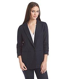 MICHAEL Michael Kors® Linen Shirred Jacket