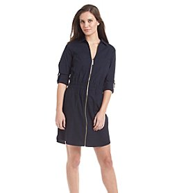 MICHAEL Michael Kors® Zip Roll Tab Dress