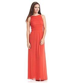 MICHAEL Michael Kors® Smock Halter Maxi Dress