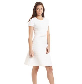 UPC 190049575758 product image for MICHAEL Michael Kors® Ottoman Crew Neck Dress | upcitemdb.com