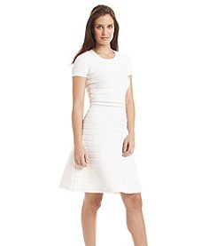 MICHAEL Michael Kors® Ottoman Crew Neck Dress