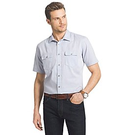 Van Heusen® Men's Short Sleeve Woven Button Down Shirt
