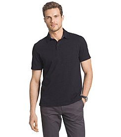 Van Heusen® Men's Short Sleeve Grid Polo