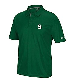 J. America® NCAA® Michigan State Spartans Men's Pregame Short Sleeve Polo