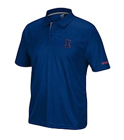 J. America ® NCAA® Illinois Fighting Illini Men's Pregame Short Sleeve Polo
