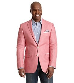 Tallia Orange Men's Linen Sport Coat