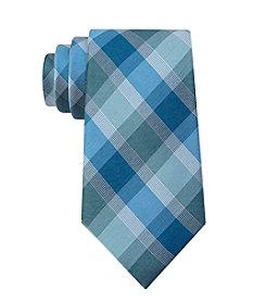 Calvin Klein Men's Box Plaid Tie
