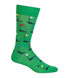 Hot Sox® Men's Golf Crew Socks
