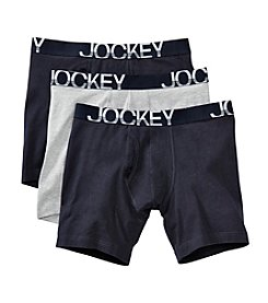 Jockey® Men's Active Stretch Midway Boxer Briefs