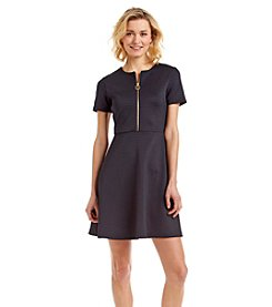 MICHAEL Michael Kors® Short Sleeve Front Zip Dress