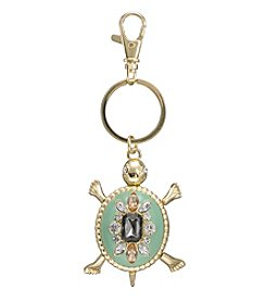 Relativity® Goldtone Turtle Key Ring