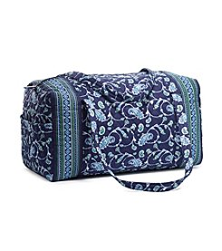 GAL Quilted Print Duffle Bag