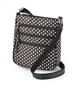 GAL Nylon Multi Zip Crossbody