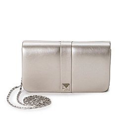 La Regale® Metallic Flap Clutch