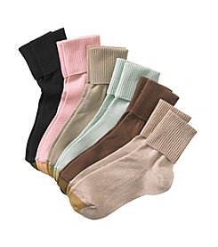 GOLD TOE® 6-Pack Turn Cuff Socks