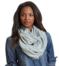 Cejon® Pale Confetti Mix Media Infinity Scarf