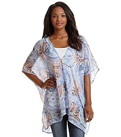 Cejon® Peacock Sunburst Topper Cover Up