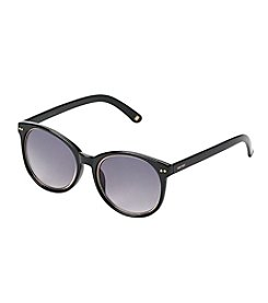 Nine West® Round Plastic Sunglasses