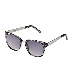 Nine West® Printed Retro Square Sunglasses