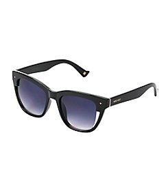 Nine West® Plastic Retro Square Sunglasses