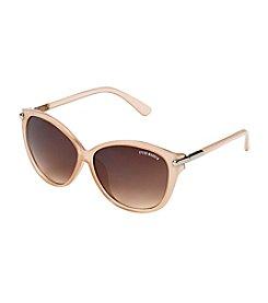 Steve Madden Milky Cream Lucia Oval Sunglasses