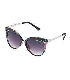 Steve Madden Mod Retro Square Sunglasses