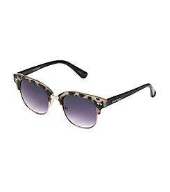 Steve Madden Tokyo Tortoise Retro Square Sunglasses