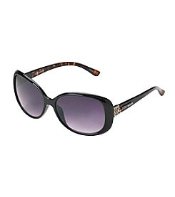 Steve Madden Rectangle Tortoise Sunglasses