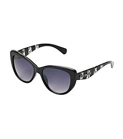 Steve Madden Cat Eye With Lace Sunglasses