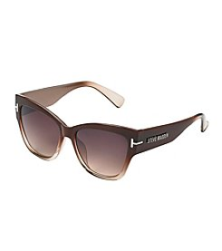 Steve Madden Brown Gorgeous Retro Square Sunglasses