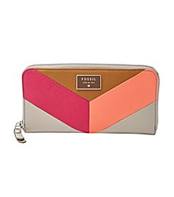 Fossil® Dawson Zip Clutch Wallet