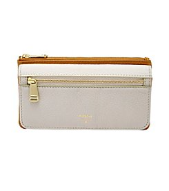 Fossil® Preston Colorblock Flap Clutch Wallet