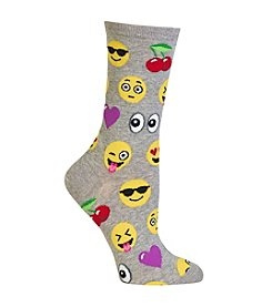 Hot Sox® Emoji Crew Socks