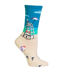 Hot Sox® Lifeguard Chair Crew Socks